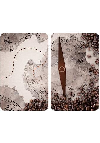 WENKO Herd-Abdeckplatte »Universal Kompass«, (Set, 2 tlg.) kaufen