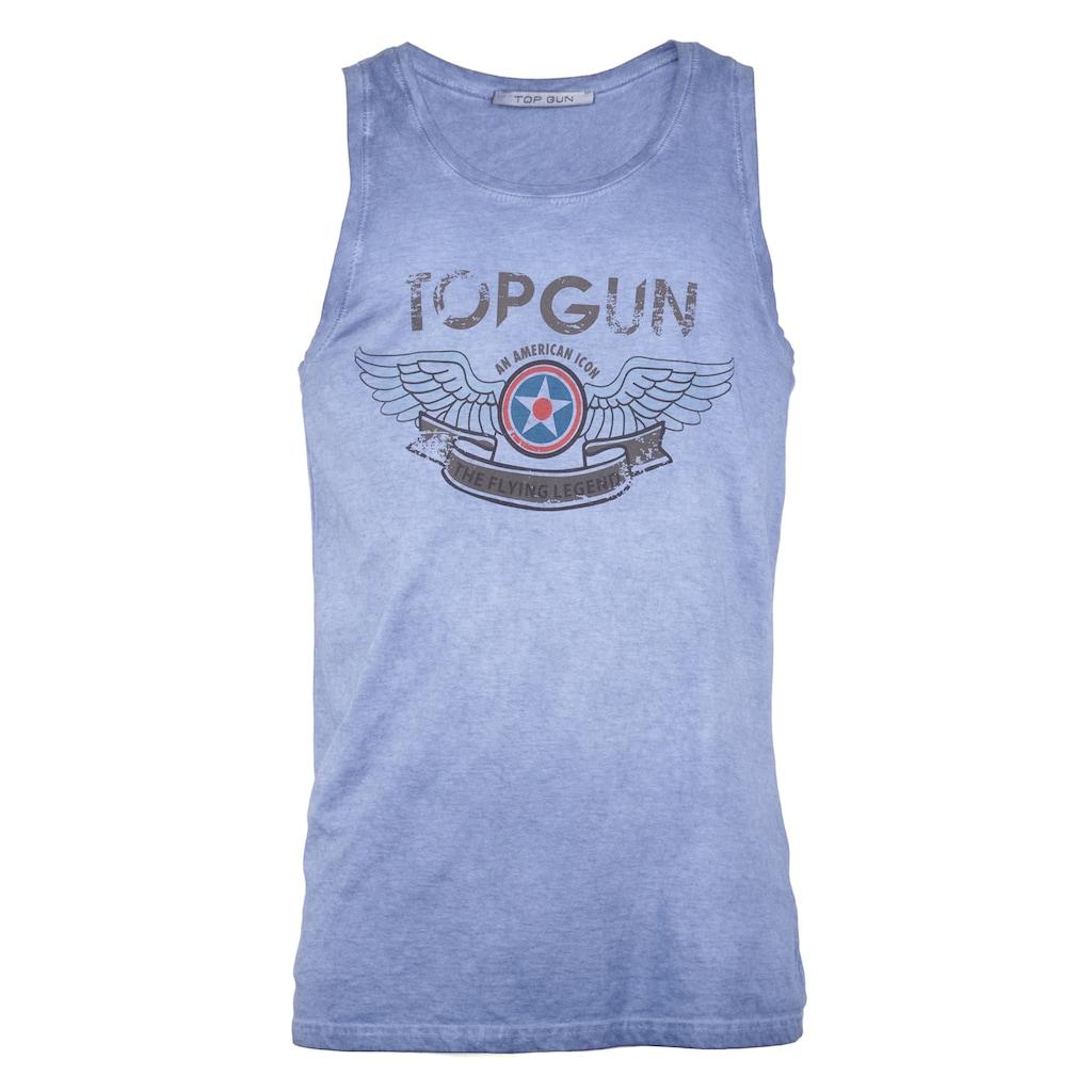 TOP GUN Muscleshirt »Flap«, sportlicher Schnitt