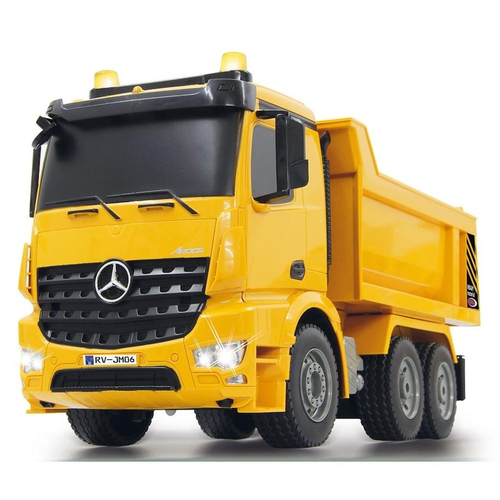 Jamara RC-Truck »Muldenkipper Mercedes Arocs«, mit Signallichtern