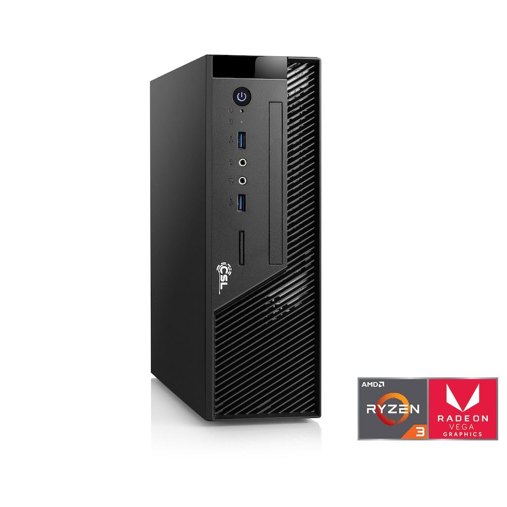 CSL Mini-PC »CSL Mini PC Ryzen 3 2200G / Win 10 Pro«