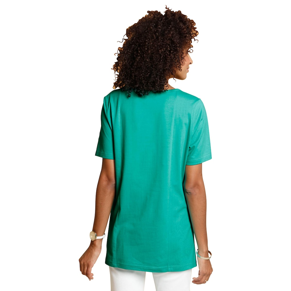 Classic Basics Schößchenshirt