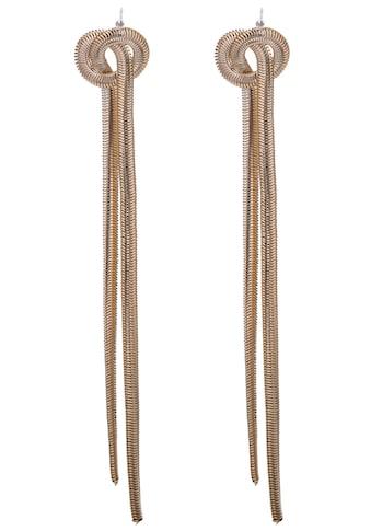 J.Jayz Paar Ohrstecker »Knoten Optik, gelbgoldfarben« kaufen