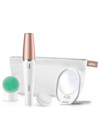 Braun Gesichtsepilierer »FaceSpa 851V 3-in-1«, 3 St. Aufsätze, mit zusätzlicher Batterie kaufen