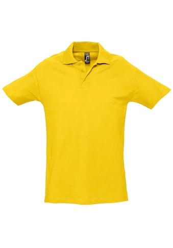 SOLS Poloshirt »Herren Spring II Polo-Shirt, Kurzarm« kaufen
