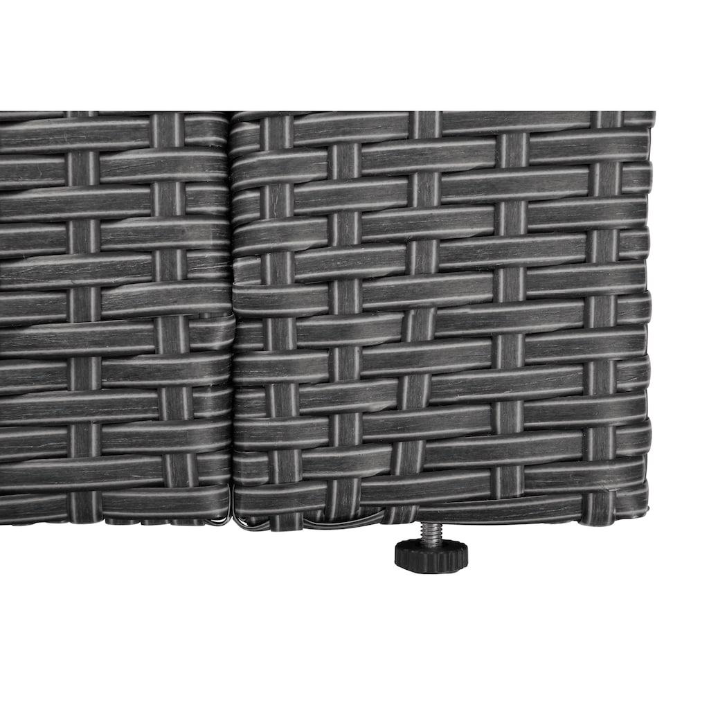 KONIFERA Loungeset »Malta«, (25 tlg.), Ecklounge, Sessel, Tisch 69x69 cm