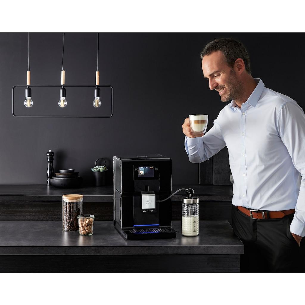 Krups Kaffeevollautomat »EA8738 Intuition Preference«, inkl. Milchbehälter und smartphoneähnlichem Farb-Touchscreen; 11 einstellbare Getränkeoptionen