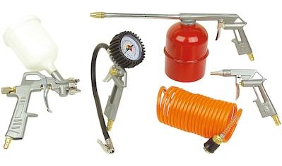 Brüder Mannesmann Werkzeuge Druckluftwerkzeug, (Set, 5 St.) kaufen