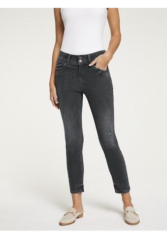 LINEA TESINI by Heine Skinny-fit-Jeans, im Used-Look kaufen