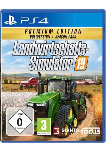 Landwirtschafts - Simulator 19: Premium Edition PlayStation 4 kaufen
