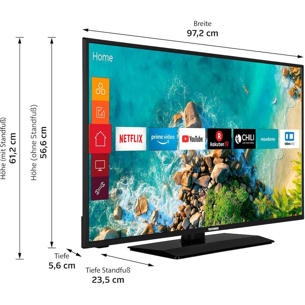 "Telefunken LED-Fernseher »D43F500M4CWI«, 108 cm/43 "", Full HD, Smart-TV"