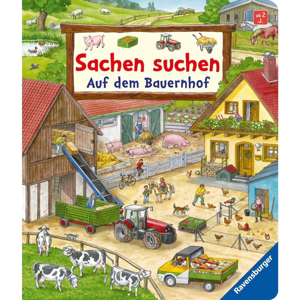 Buch »Sachen suchen: Auf dem Bauernhof / Susanne Gernhäuser, Anne Suess«