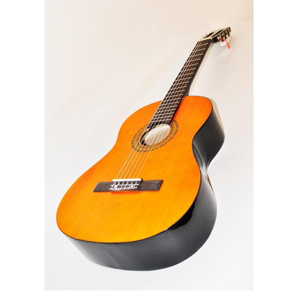 Clifton Konzertgitarre »Clifton - Konzertgitarre ½«, 1/2, Komplettset