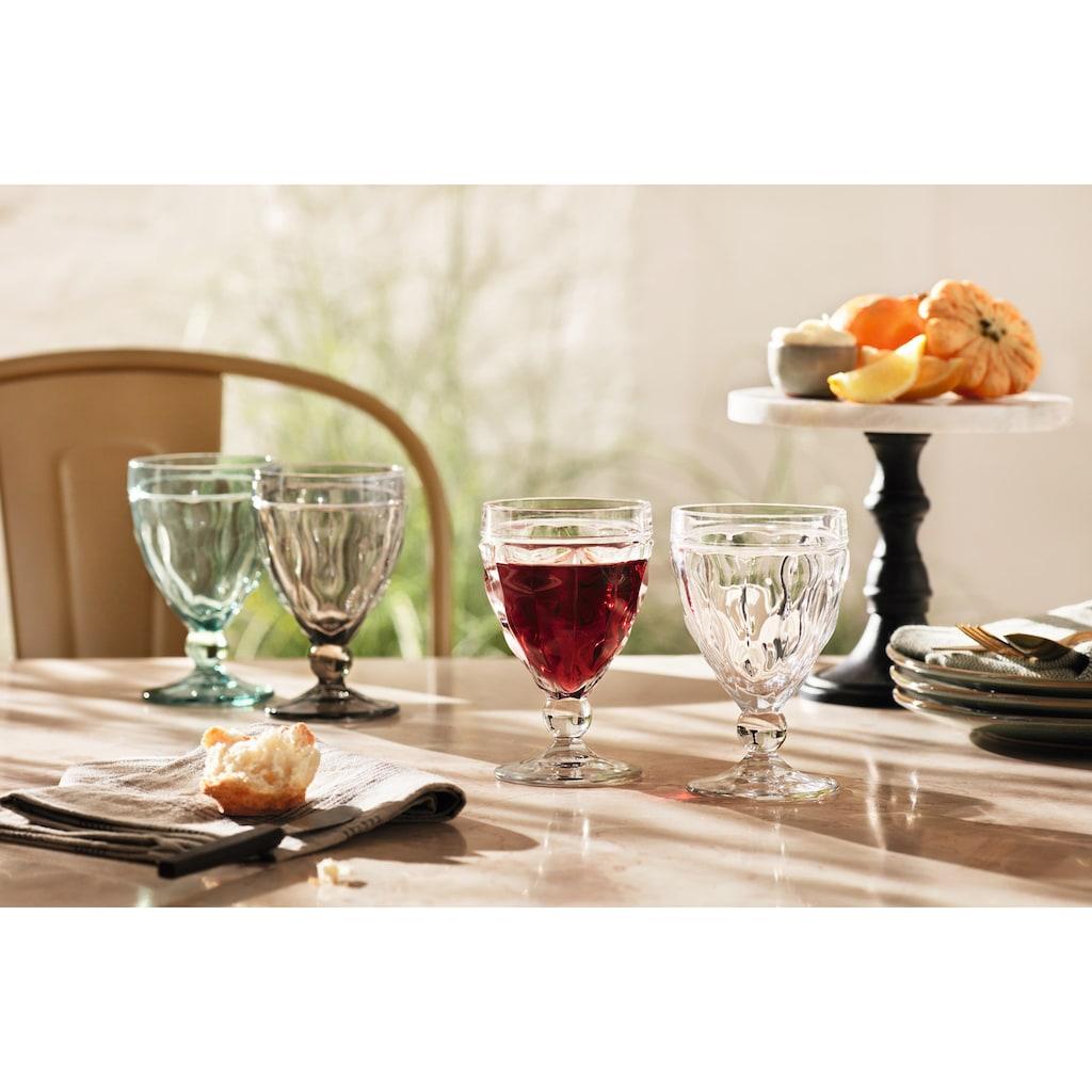 LEONARDO Rotweinglas »BRINDISI«, (Set, 6 tlg.), 310 ml, 6-teilig