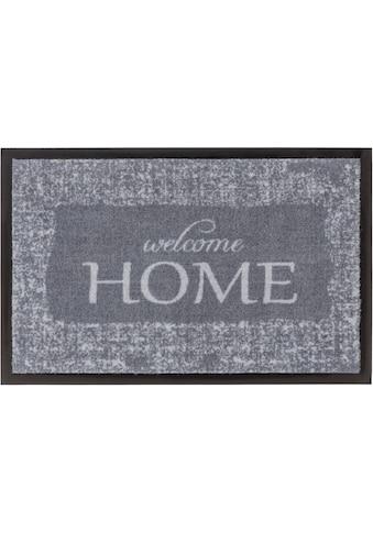 ASTRA Fußmatte »Homelike 063«, rechteckig, 7 mm Höhe, Schmutzfangmatte, mit Spruch, In... kaufen