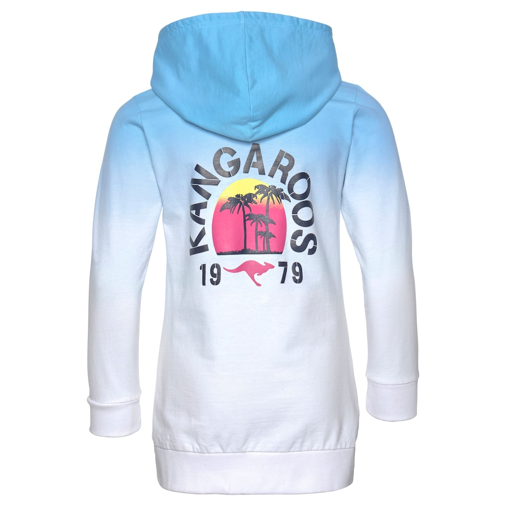 KangaROOS Kapuzensweatshirt, in längerer Form