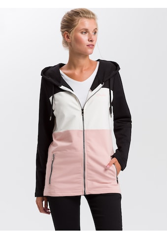 Cross Jeans® Kapuzensweatjacke »65234«, Long Sweat Jacke kaufen