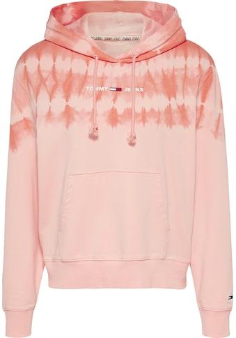 TOMMY JEANS Kapuzensweatshirt »TJW SUMMER TIE DYE HOODIE« kaufen
