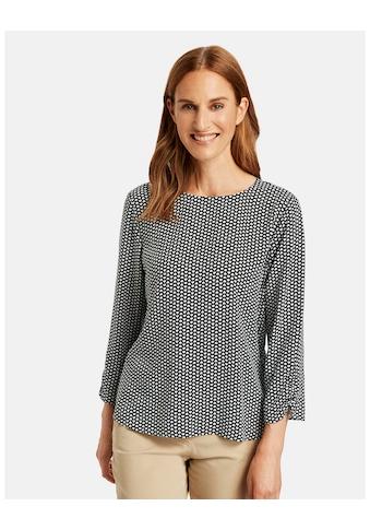 GERRY WEBER Klassische Bluse »Bluse mit Minimalmuster« kaufen