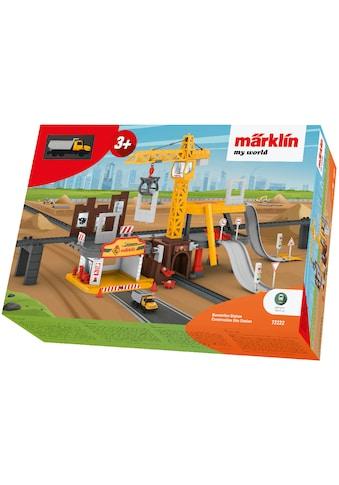 Märklin Modelleisenbahn-Baustelle »Märklin my world - Baustellen Station - 72222« kaufen
