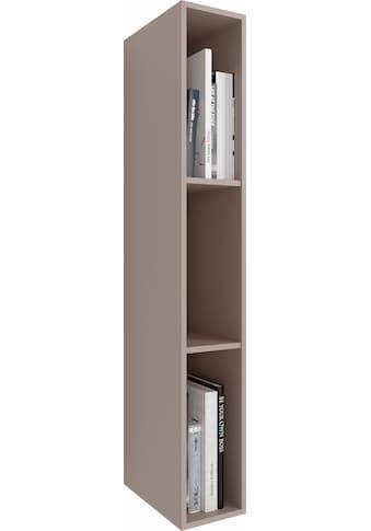 GWINNER Wandregal »ANZIO«, Lack fango, Höhe 108 cm kaufen