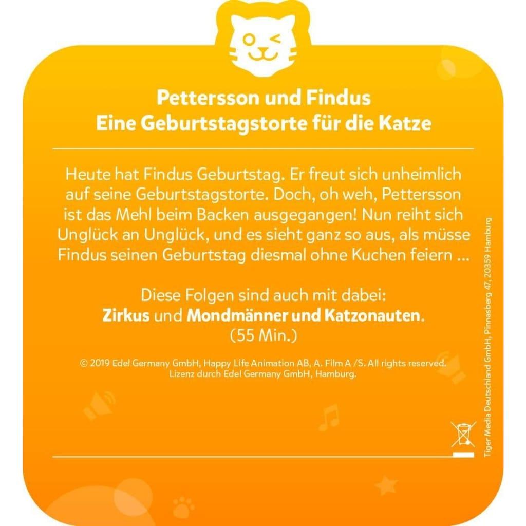 tigerbox Hörspiel »Pettersson & Findus - Geburtstagstorte für die Katze«