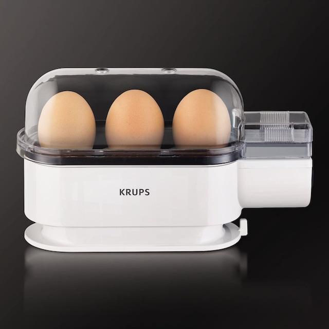 Krups Eierkocher Ovomat Trio F23470, Anzahl Eier: 3 Stück, 300 Watt