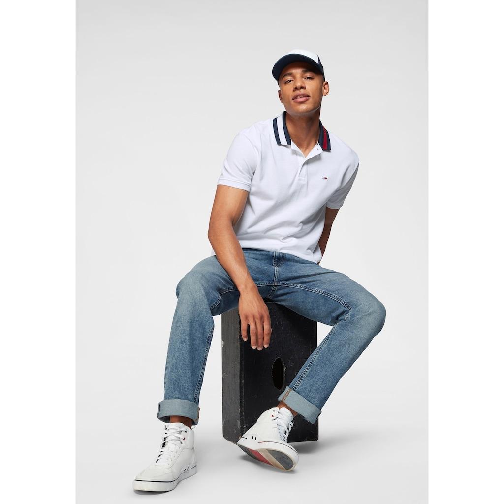 Tommy Jeans Poloshirt »TJM FLAG NECK POLO«