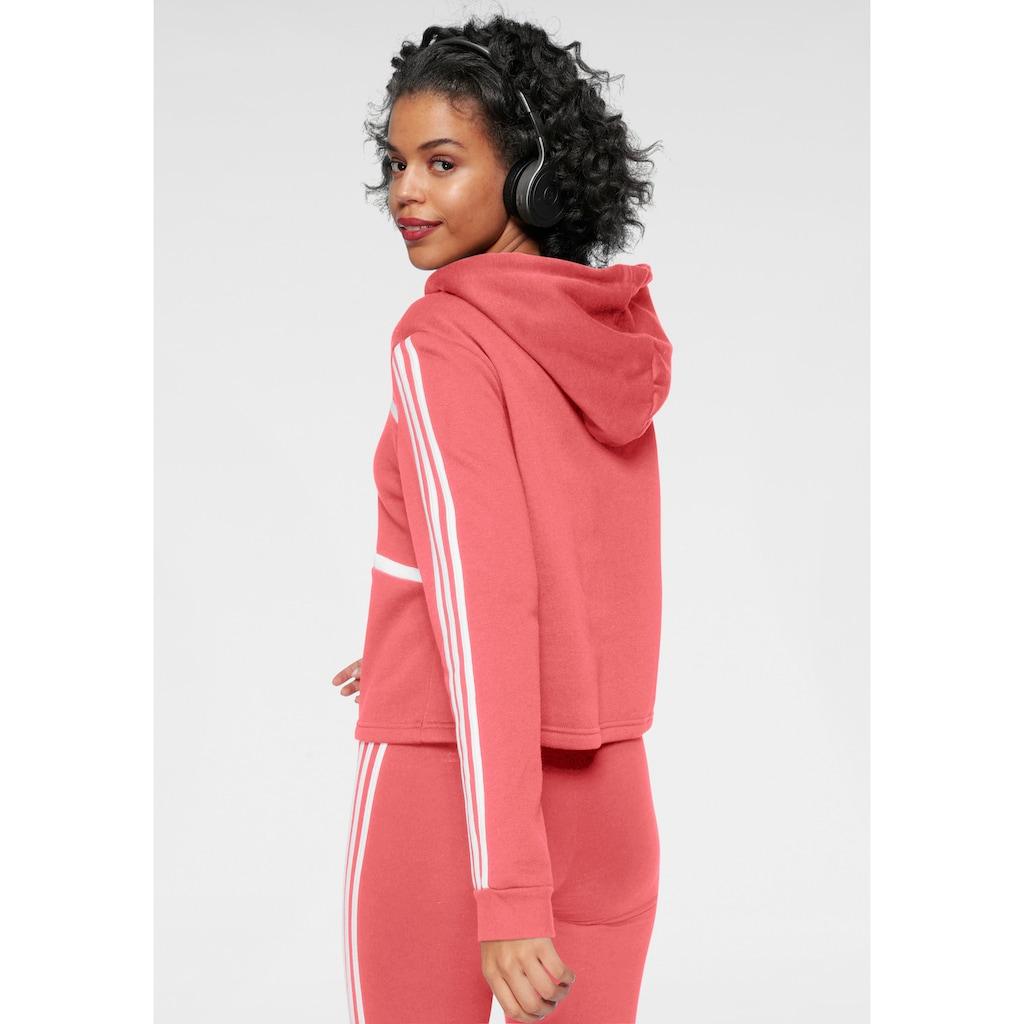 adidas Performance Kapuzensweatshirt »WOMEN COLORBLOCK CROPPED HOODIE«