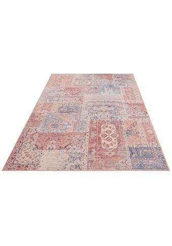 Home affaire Teppich »Navi«, rechteckig, 6 mm Höhe, Druckteppich, Wohnzimmer kaufen