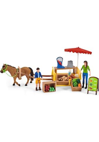 Schleich® Spielwelt »Farm World, Mobiler Farm Stand (42528)« kaufen