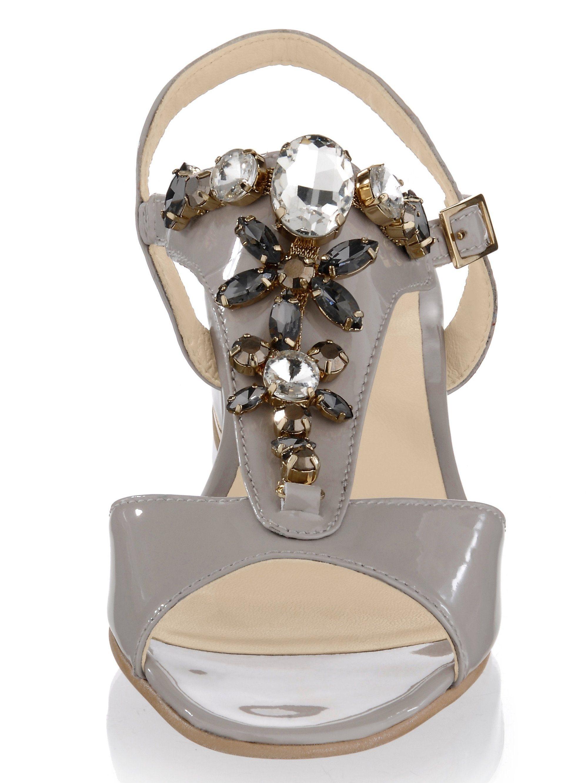 Alba Moda Sandalette kaufen aus Lackleder jetzt online kaufen Sandalette | Gutes Preis-Leistungs-Verhältnis, es lohnt sich c3fc22