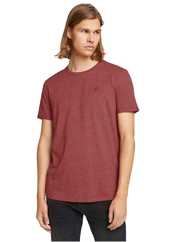 TOM TAILOR Denim T-Shirt, melierte Optik kaufen