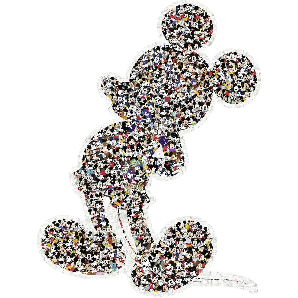 Ravensburger Konturenpuzzle »Shaped Mickey«, Made in Germany, FSC® - schützt Wald - weltweit