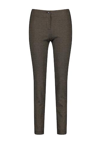 GERRY WEBER Stoffhose »Hose mit Bicolor Struktur« kaufen
