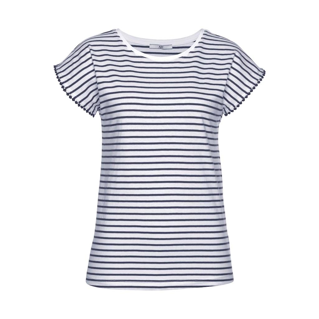 AJC Jumpsuit, (Set, 2 tlg.), T-Shirt & Shorts im Overall-Look