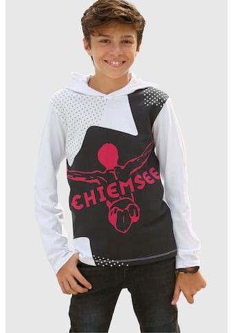 Chiemsee Langarmshirt, mit großem Druck kaufen