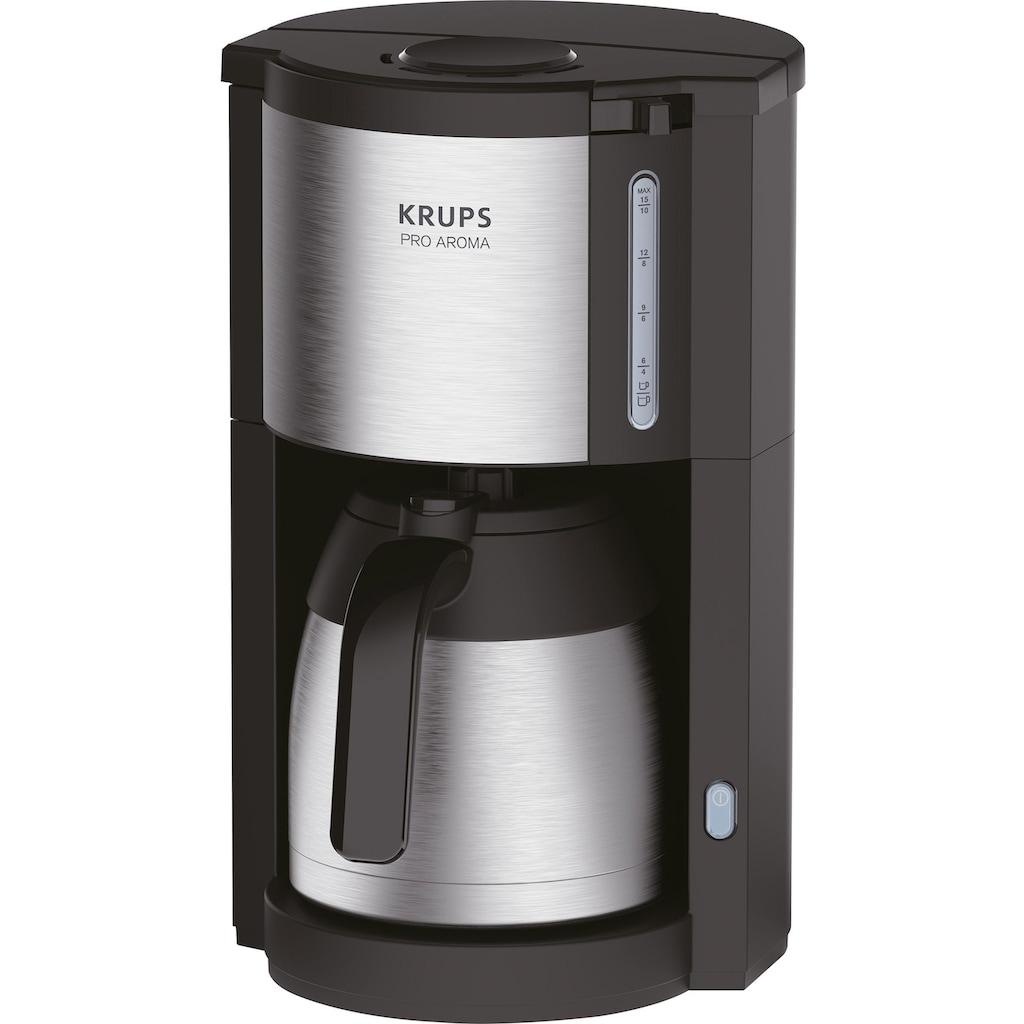 Krups Filterkaffeemaschine »KM305D Pro Aroma«, Papierfilter, für 10 bis 15 Tassen