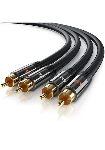 Primewire Stereo-Cinch HiFi Audio-Kabel mehrfach geschirmt kaufen