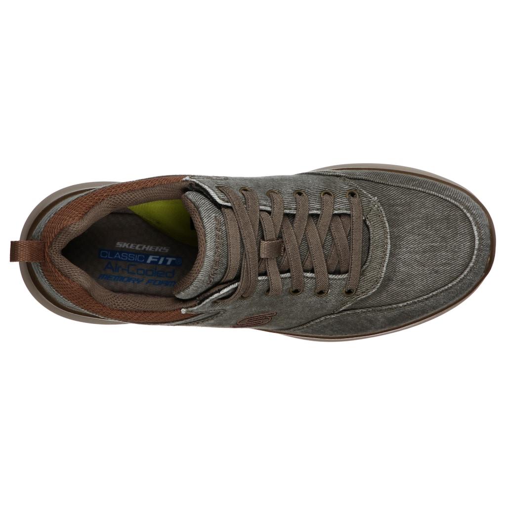 Skechers Sneaker »Kemper«, in Jeans-Optik