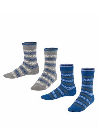 Esprit Socken »Geo Pattern 2-Pack«, (2 Paar), aus Biobaumwolle kaufen