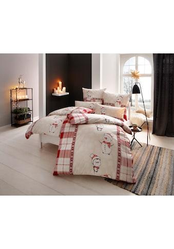 my home Bettwäsche »Snowman«, mit süßen Schneemannmotiven kaufen