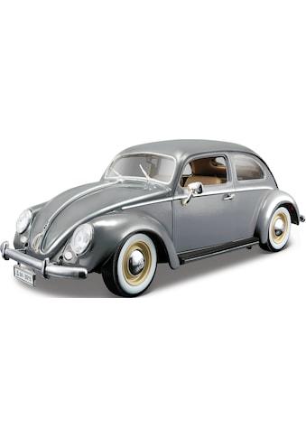 Bburago Sammlerauto »Volkswagen Käfer (1955), grau«, 1:18 kaufen