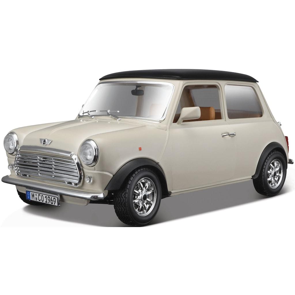 Bburago Sammlerauto »Mini Cooper (1969)«, 1:16