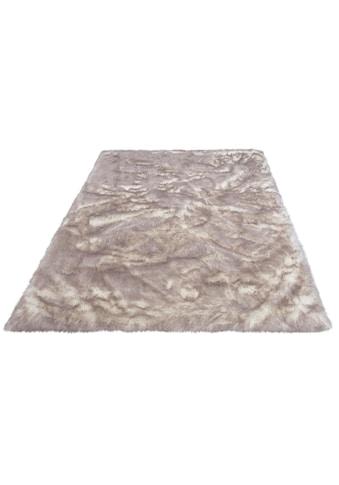 Hochflor - Teppich, »Sammo«, my home, rechteckig, Höhe 60 mm, gedruckt kaufen