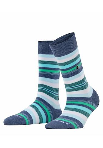 Burlington Socken »Stripe«, (1 Paar), mit hohem Baumwollanteil kaufen