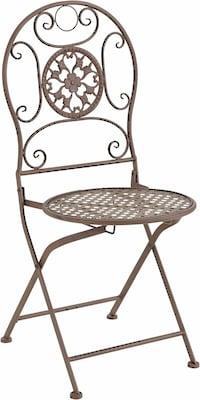 Klappbarer Stuhl für Terrasse oder Balkon