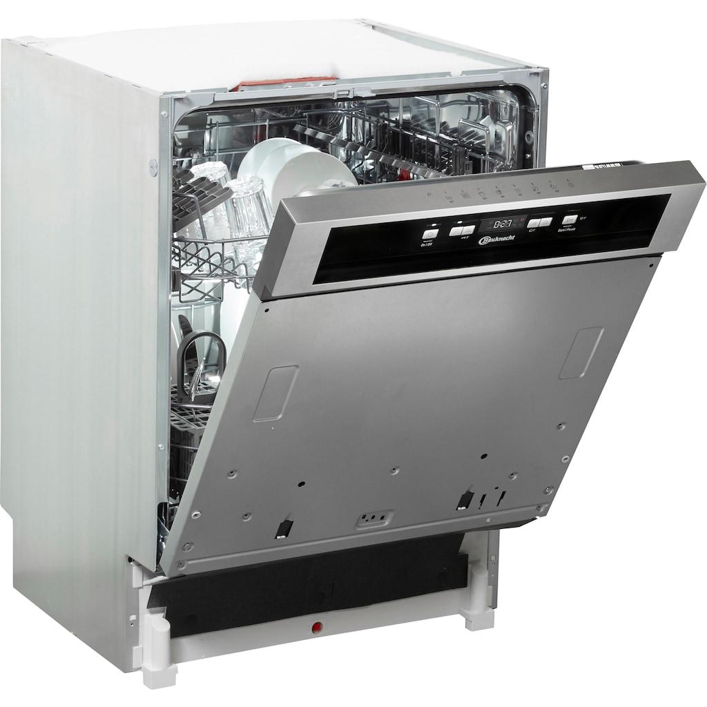 BAUKNECHT teilintegrierbarer Geschirrspüler »OBBC ECOSTAR 5320«, OBBC ECOSTAR 5320, 14 Maßgedecke