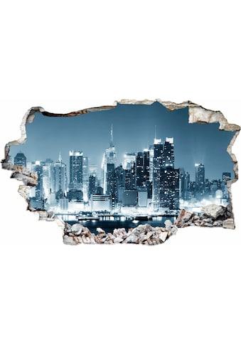 Wall-Art Wandtattoo »New York at Night 1« kaufen