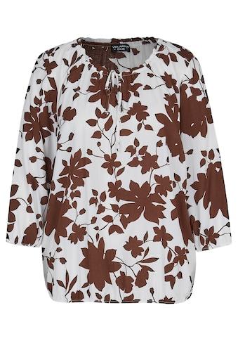VIA APPIA DUE Schlupfbluse, mit floralem Allover-Muster kaufen