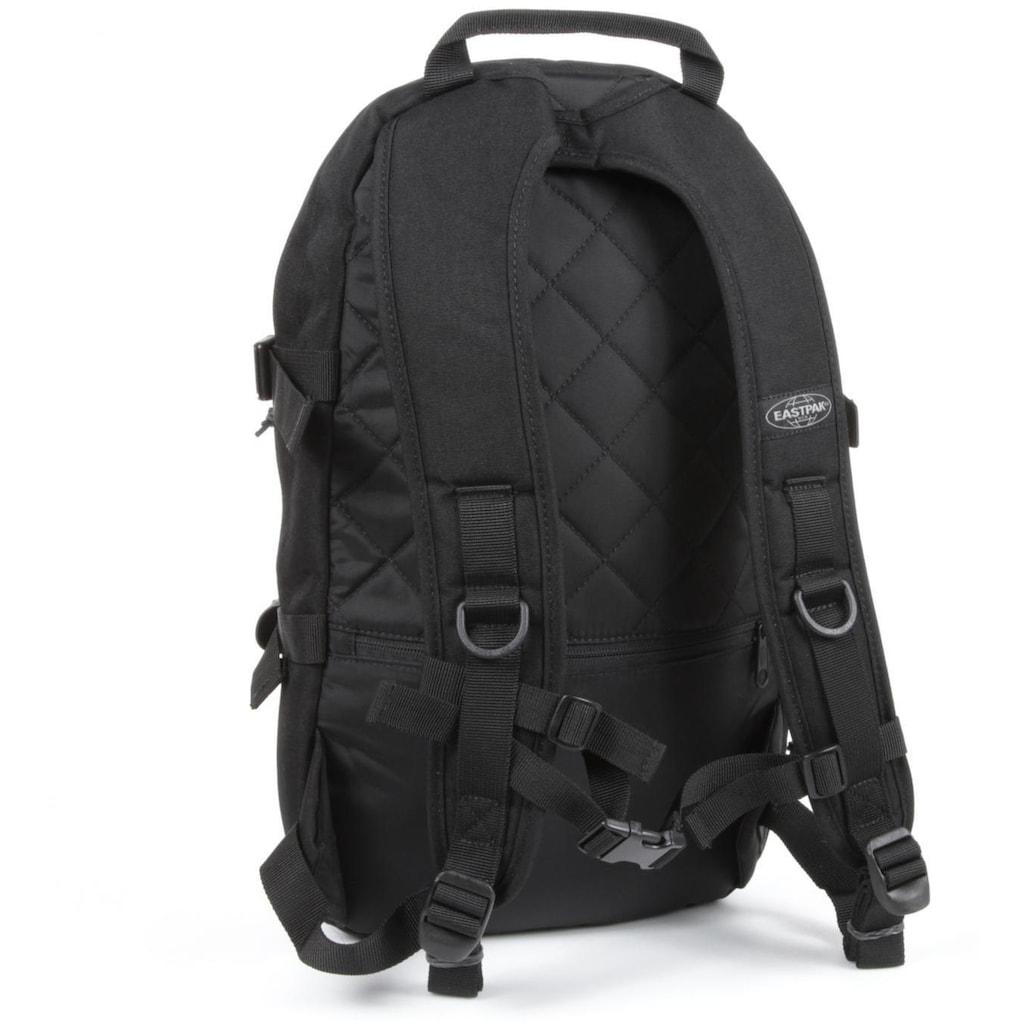 Eastpak Laptoprucksack »FLOID, Black«, enthält recyceltes Material (Global Recycled Standard)